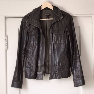 🤎 Vintage leather jacket